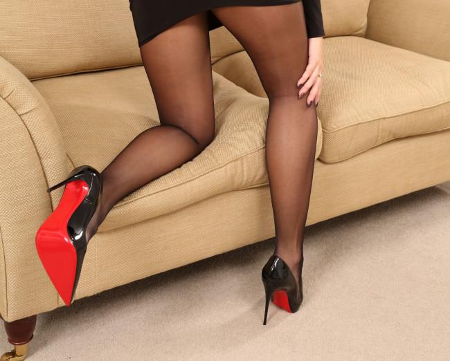 Ноги в чулках крупным планом фото 18444 фотография